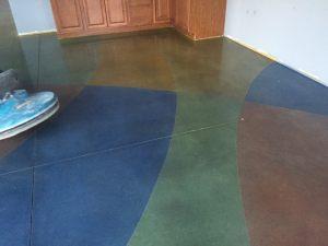 Custom Design Polished Concrete