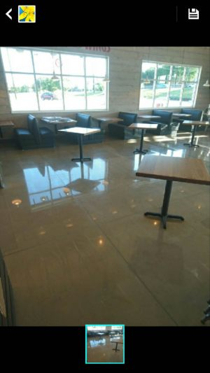 Stained Polished Concrete